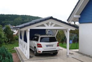 carport bauen mit carport. Black Bedroom Furniture Sets. Home Design Ideas